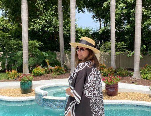 Love a Black White Kimono