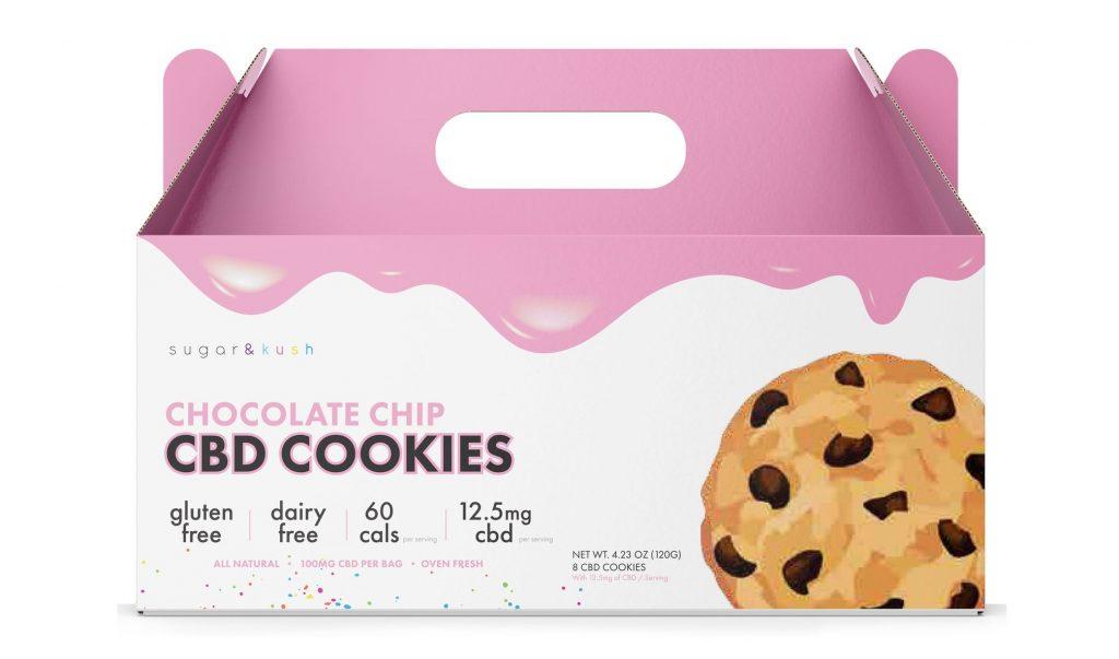 Sugar and Kush CBD cookies are keto-friendly, gluten and dairy free