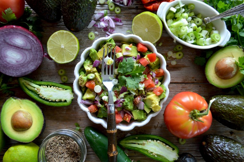 Keto, Low Carb guacamole is easy and delish to prepare