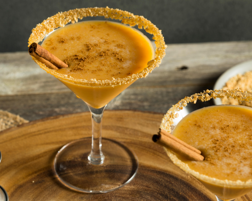 pumpkin martinis are perfect fr fall