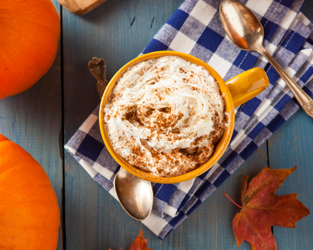 pumpkin lattes perfect for fall