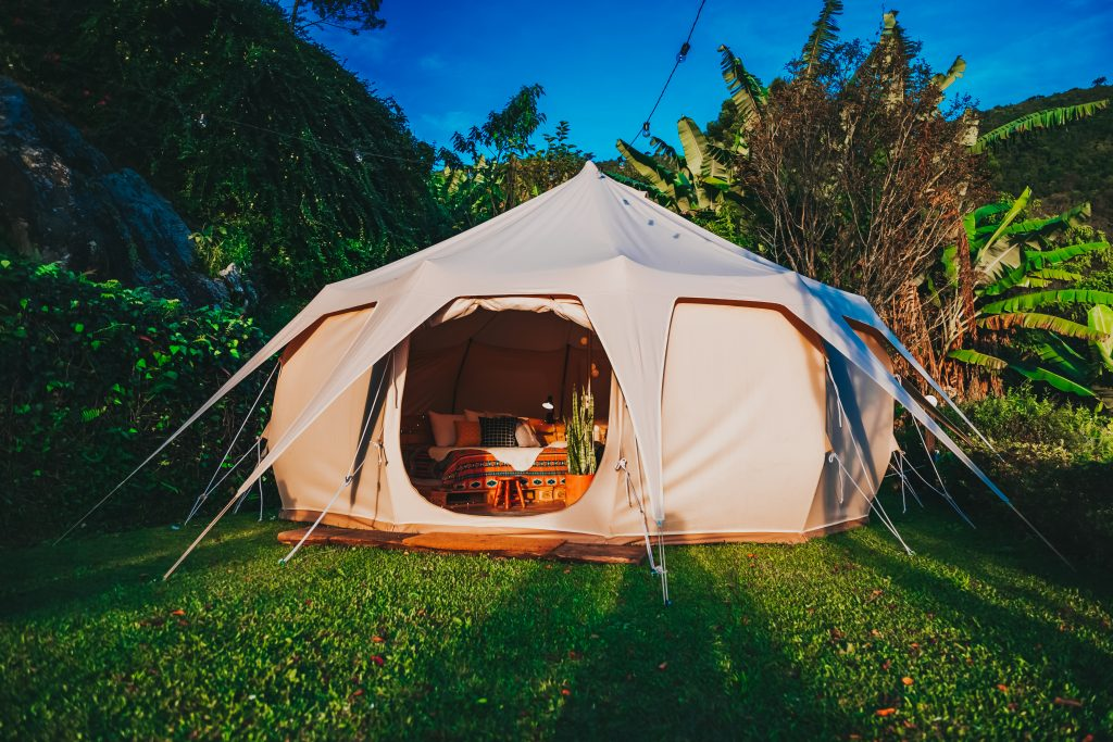 camp in your backyard labor day weekend