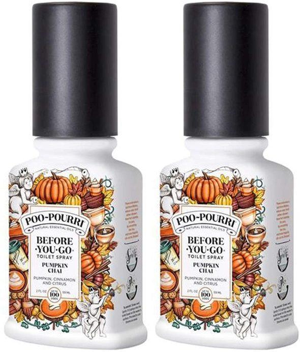pumpkin spice fall spray