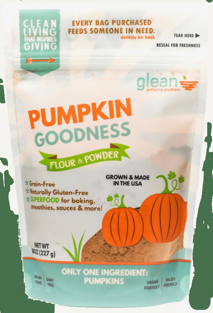 glean pumpkin flour