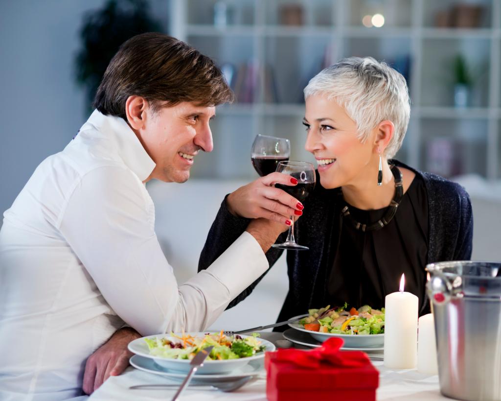 Valentine date night menus