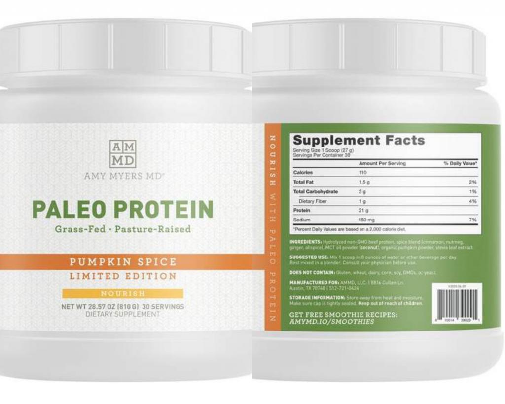 paleo protein powder rocks my world