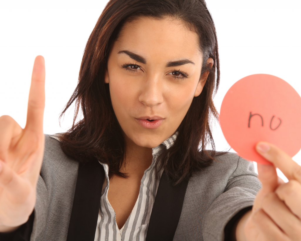 yes, you can say no and not feel guilty