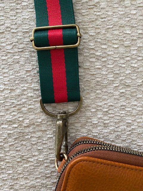 brown/tan crossbody bag strap