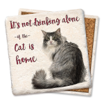 It's Not Drinking Alone – Cat