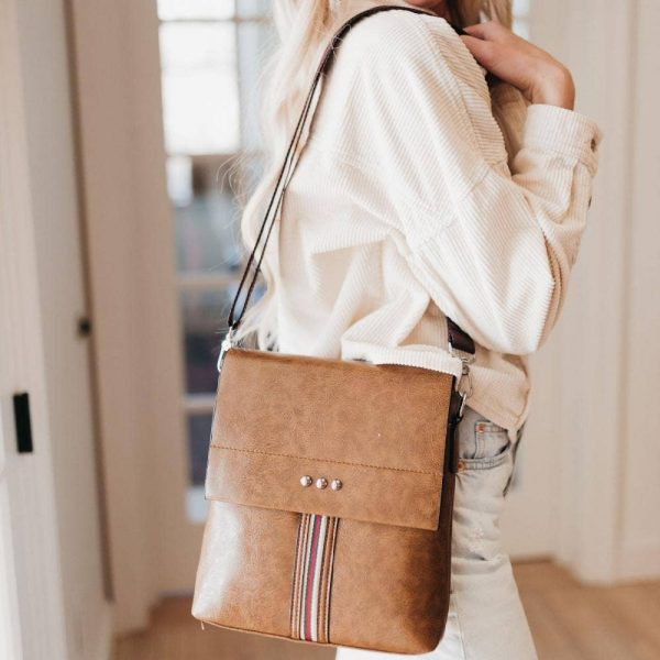 tan beige crossbody bag