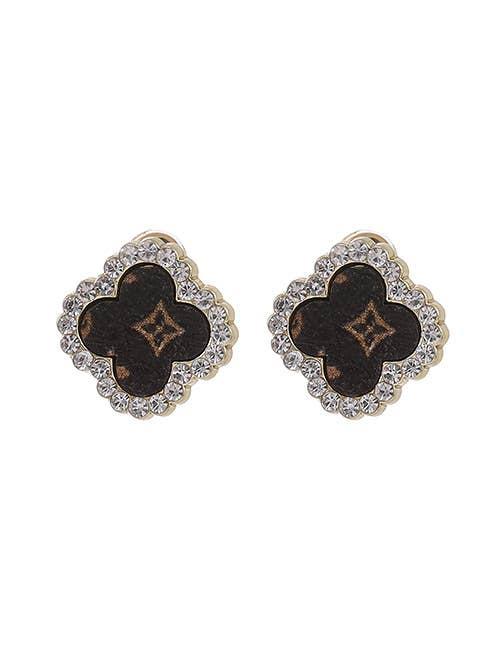 UPcycled LV Quatrefoild Earrings