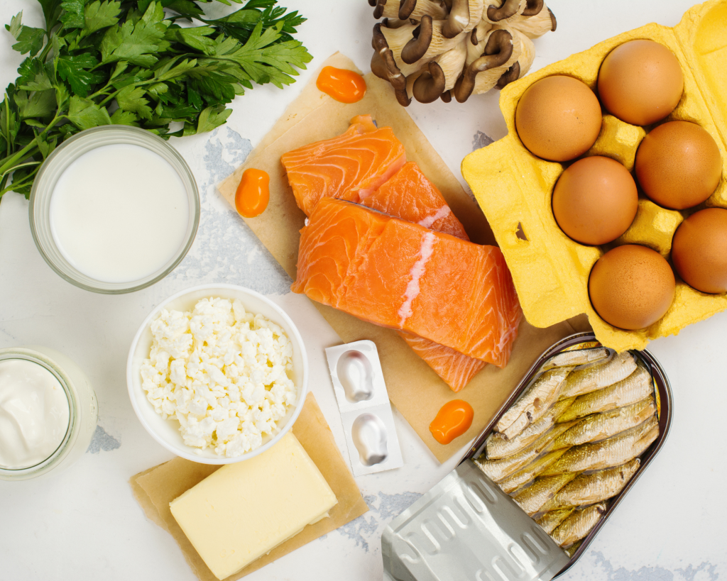 vitamin d in the foods we eat
