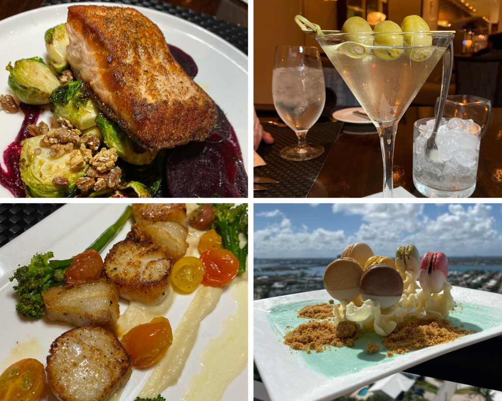 Food at The Marriott Singer Island