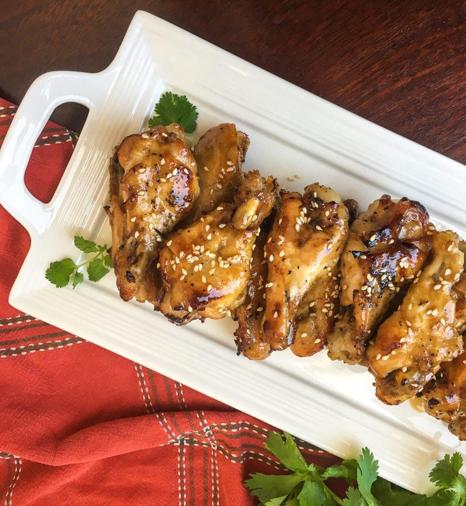 Easy Instant Pot Sesame Garlic Wings